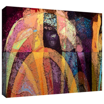 Brushstone Geo-Evolution Gallery Wrapped Canvas Wall Art