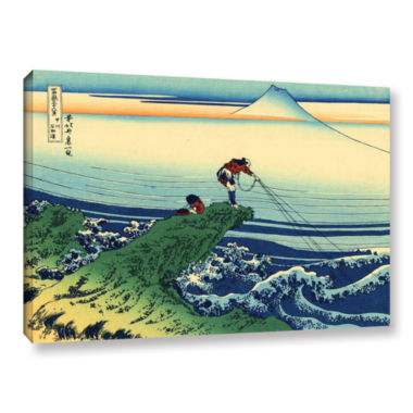 Brushstone Kajikazawa In Kai Province Gallery Wrapped Canvas Wall Art