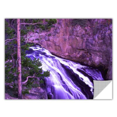 Brushstone Gibbon Fall Dusk Removable Wall Decal