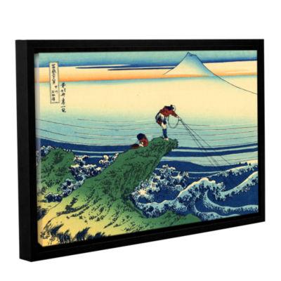 Brushstone Kajikazawa In Kai Province Gallery Wrapped Floater-Framed Canvas Wall Art