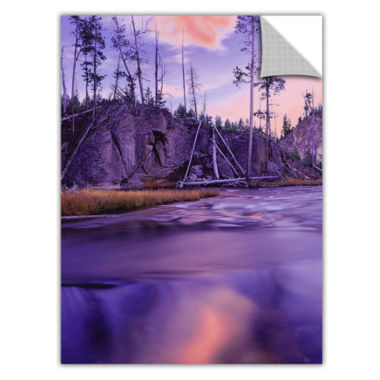 Brushstone Gibbon River Twilight Removable Wall Decal