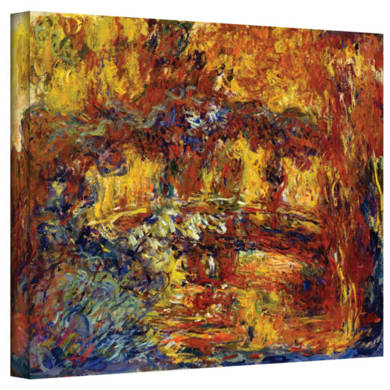 Brushstone Japanese Fottbridge Gallery Wrapped Canvas