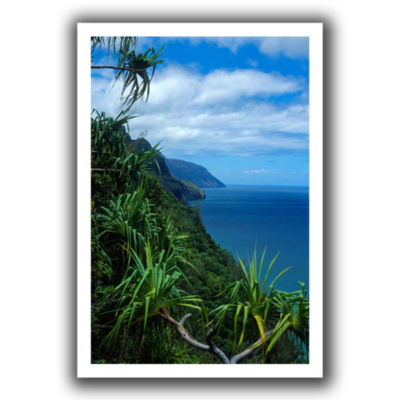 Brushstone Kalulua Trail Kauai Canvas Wall Art