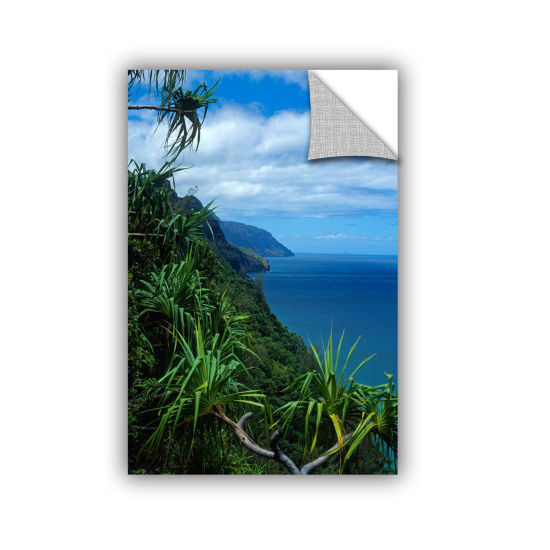 Brushstone Kalulua Trail Kauai Removable Wall Decal