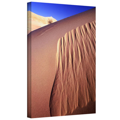 Brushstone Kelso Dunes Erosion Gallery Wrapped Canvas Wall Art