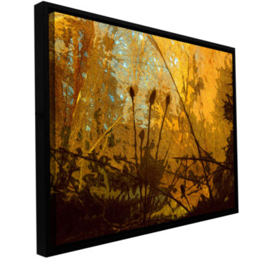 Brushstone Riverside Gallery Wrapped Floater-Framed Canvas Wall Art