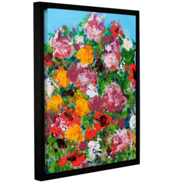 Brushstone Jardin Botanique Garden Gallery WrappedFloater-Framed Canvas