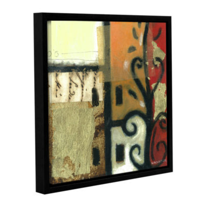 Brushstone Jazz Notes 1 Gallery Wrapped Floater-Framed Canvas
