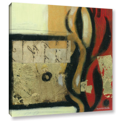 Brushstone Jazz Notes 2 Gallery Wrapped Canvas