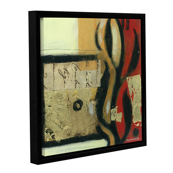 Brushstone Jazz Notes 2 Gallery Wrapped Floater Framed Canvas