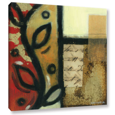 Brushstone Jazz Notes 3 Gallery Wrapped Canvas