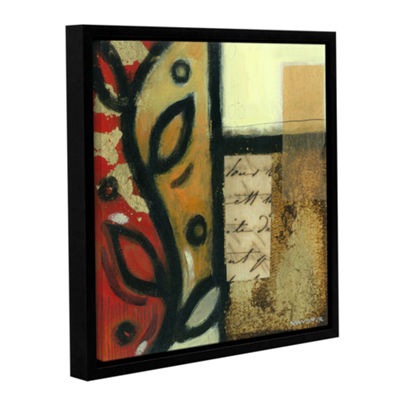 Brushstone Jazz Notes 3 Gallery Wrapped Floater-Framed Canvas