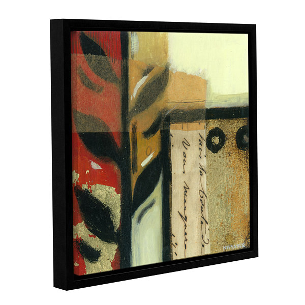 Brushstone Jazz Notes 4 Gallery Wrapped Floater-Framed Canvas