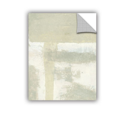 Brushstone Neutral Abstract Removable Wall Decal