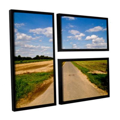 Brushstone Never Ending 3-pc. Flag Floater FramedCanvas Wall Art