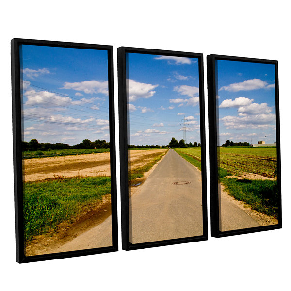 Brushstone Never Ending 3-pc. Floater Framed Canvas Wall Art