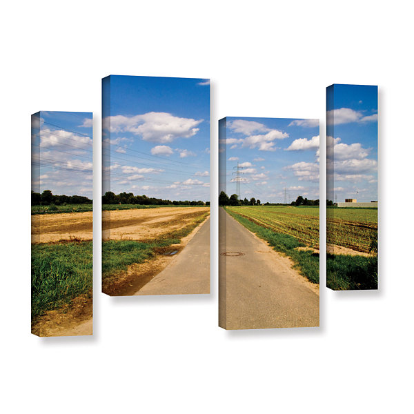 Brushstone Never Ending 4-pc. Gallery Wrapped Staggered Canvas Wall Art