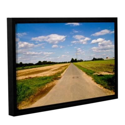 Brushstone Never Ending Gallery Wrapped Floater-Framed Canvas Wall Art