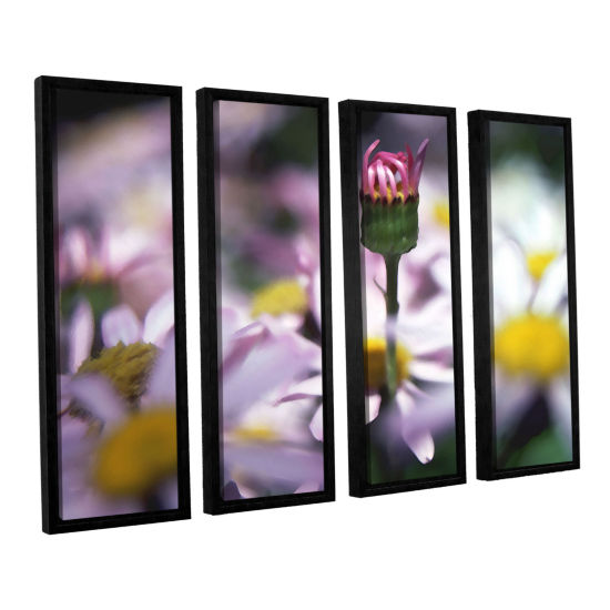 Brushstone New Arrival 4-pc. Floater Framed Canvas Wall Art