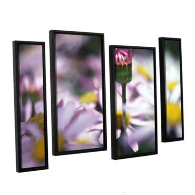 Brushstone New Arrival 4-pc. Floater Framed Staggered Canvas Wall Art