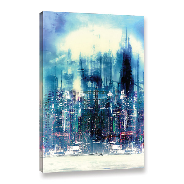 Brushstone New City Gallery Wrapped Canvas Wall Art