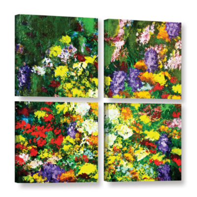 Brushstone New Orleans 4-pc. Square Gallery Wrapped Canvas Wall Art