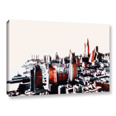 Brushstone New York Gallery Wrapped Canvas Wall Art