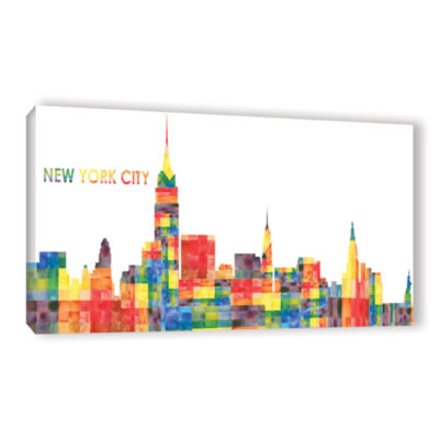 Brushstone New York City Gallery Wrapped Canvas Wall Art