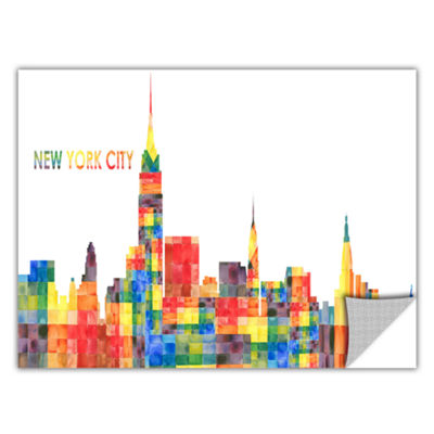 Brushstone New York City Removable Wall Decal
