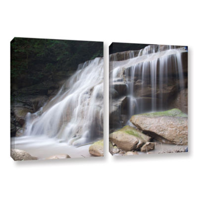 Brushstone New York Rattlesnake Gulf Waterfall 2-pc. Gallery Wrapped Canvas Wall Art