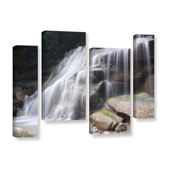 Brushstone New York Rattlesnake Gulf Waterfall 4-pc. Gallery Wrapped Staggered Canvas Wall Art
