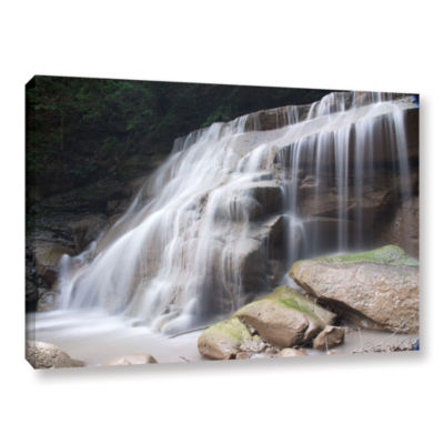 Brushstone New York Rattlesnake Gulf Waterfall Gallery Wrapped Canvas Wall Art