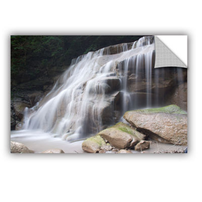 Brushstone New York Rattlesnake Gulf Waterfall Removable Wall Decal
