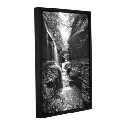 Brushstone New York -Watkins Glen Gallery WrappedFloater-Framed Canvas Wall Art