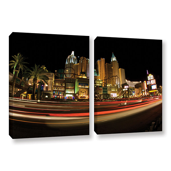 Brushstone New York New York 2-pc. Gallery Wrapped Canvas Wall Art