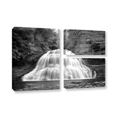 Brushstone New York-Treman Falls 3-pc. Flag Gallery Wrapped Canvas Wall Art