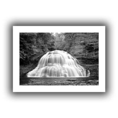 Brushstone New York-Treman Falls Canvas Wall Art