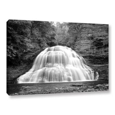 Brushstone New York-Treman Falls Gallery Wrapped Canvas Wall Art