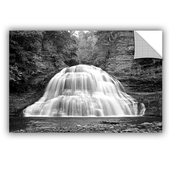 Brushstone New York-Treman Falls Removable Wall Decal