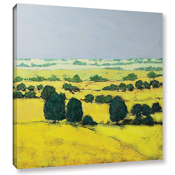 Brushstone Next Hill Gallery Wrapped Canvas Wall Art