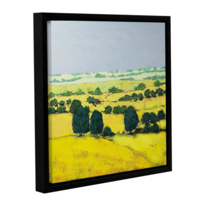 Brushstone Next Hill Gallery Wrapped Floater-Framed Canvas Wall Art