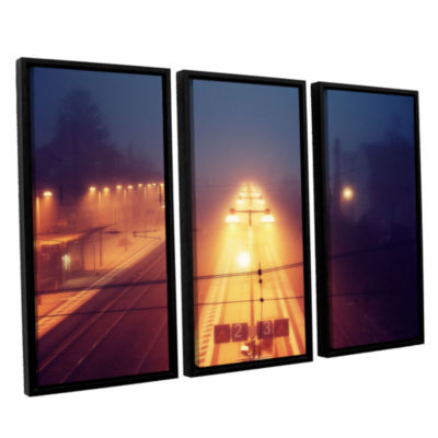 Brushstone Night Adventure 3-pc. Floater Framed Canvas Wall Art