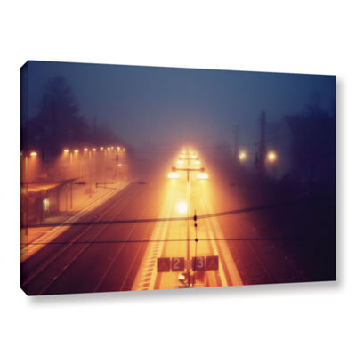 Brushstone Night Adventure Gallery Wrapped CanvasWall Art