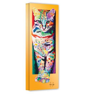 Brushstone Night Hunt Gallery Wrapped Canvas WallArt