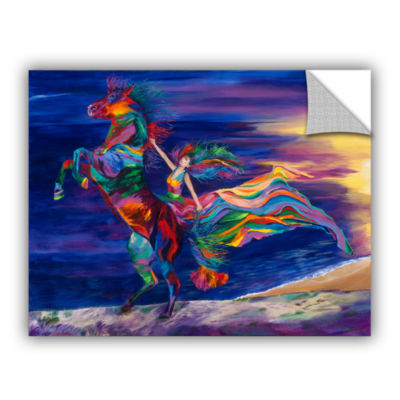 Brushstone Night Ride Removable Wall Decal