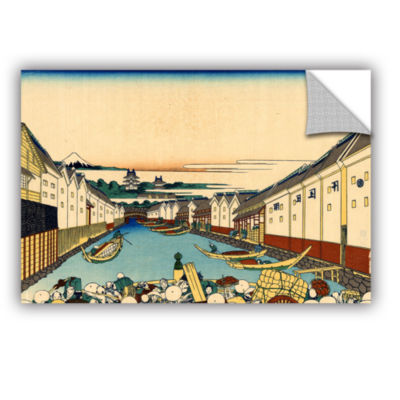 Brushstone Nihonbashi In Edo Removable Wall Decal