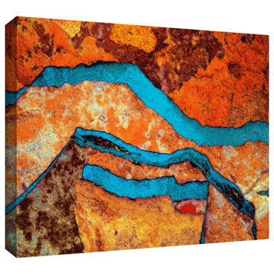 Brushstone Niquesa (165) Gallery Wrapped Canvas Wall Art