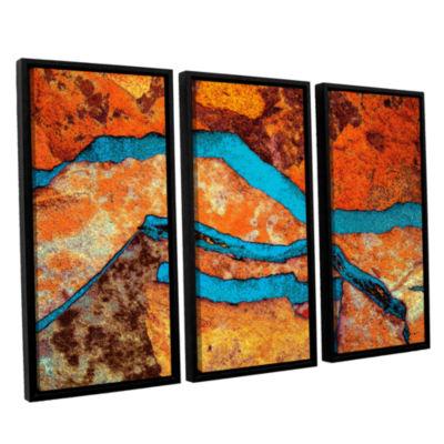 Brushstone Niquesa (216) 3-pc. Floater Framed Canvas Wall Art