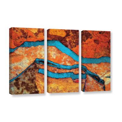 Brushstone Niquesa (216) 3-pc. Gallery Wrapped Canvas Wall Art