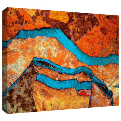 Brushstone Niquesa (216) Gallery Wrapped Canvas Wall Art
